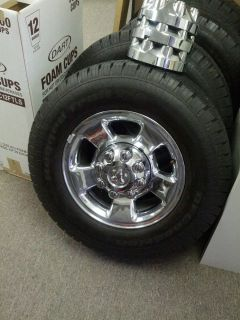 Dodge RAM 2500 Wheels Tires Driven on 2 Weeks