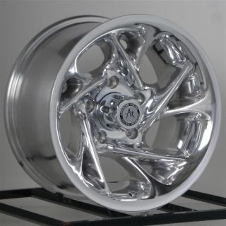 15 Inch Chrome Wheels Rims Nissan Toyota Isuzu Truck Chevy GM Truck