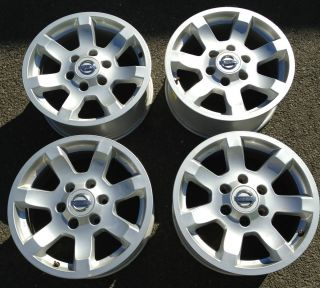 Nissan Titan Armada 17 FACTORY OEM RIMS ALLOY WHEELS set 62435 17x7 5