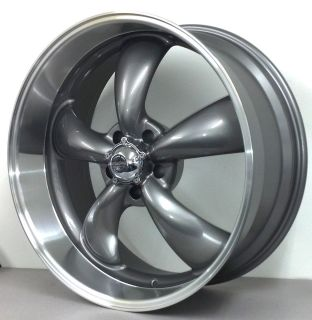 Classic 5 Spoke Gray Wheels 5 Lug Chevy Truck 5x5 20 Gray Rims