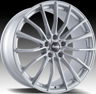 15x6 5 Advanti Racing Lupo 5x114 3 38 Silver Rims Wheels