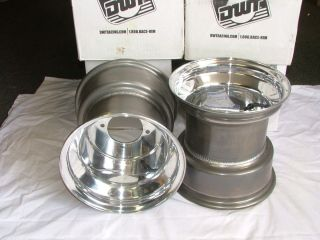 Yamaha Raptor 660 700 Wheels Rims Drag Race Douglas 10x10 Set 2