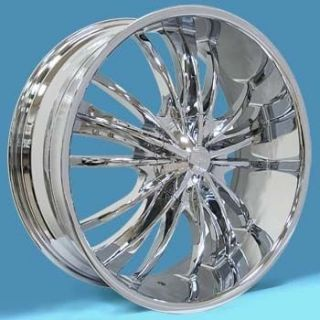 inch 20x8 5 PW88 5 6 Lug Cruger Dub Rims Wheels Tires Package