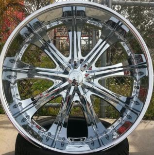 30 Red Sport 33 Wheels Tires Rims 5x127 Caprice Impala SS Silverado