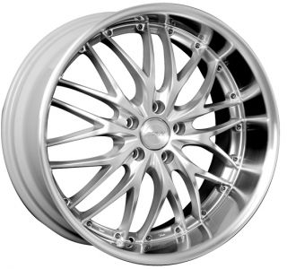MRR GT1 18x7 5 5x114 3 38 Hyper Silver Machine Rims Wheels