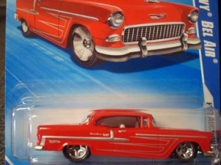 Hot Wheels 2010 Hot Auction Series 55 Chevy Bel Air