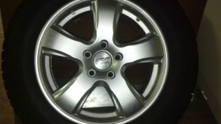 17 Sport Edition TX5 Sliver Rims with Bridgestone Blizzak DM V1 Tires