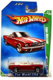 2009 Hot Wheels Treasure Hunt 43 64 Ford Mustang