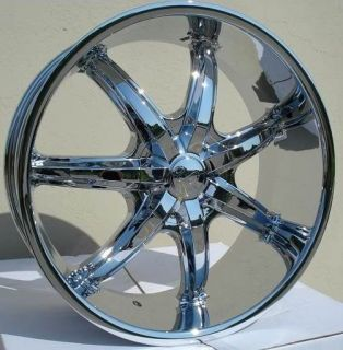 22 inch U35S Chrome Wheels Rims Dodge Charger Magnum