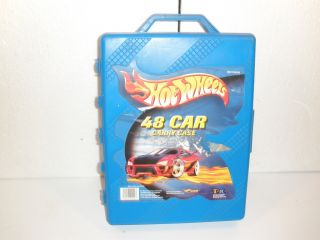 2001 Hot Wheels 48 Car Carry Case