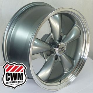 17x8 Bullitt Replica Silver Wheels Rims 5x4 50 lug pattern for Mercury
