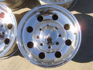 polished alloy wheels rims alcoa 16x7 8x6 5 Chevy 2500HD Ford F250
