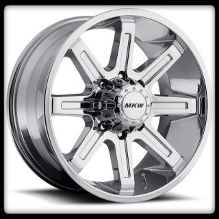 OFF ROAD M88 CHROME RIMS & TOYO 265 70 17 OPEN COUNTRY AT WHEELS TIRES