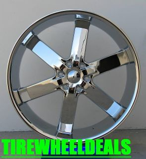 28 inch U2 55 Wheels Rims Tires Fit Chevy Cadillac GMC Nissan Tire