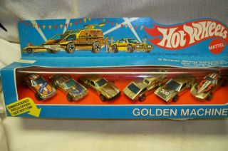 Hot Wheels Mattel Golden Machines 6 Pack 1976 1978