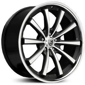 20 Lexani Wheels CVX 55 Stagger Rims Tires G35 350Z Lexus BMW