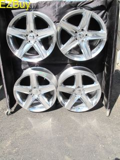 Cherokee SRT 8 Style Polished Set of Four Wheels Rims 9062 9082