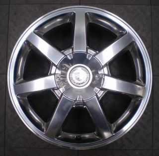 4578 Cadillac cts STS 17 Factory OE Alloy Wheel Rim Polished