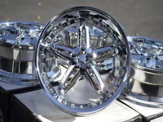 20 Chrome VCT Wheels Rims 5x115 Chrysler 300 Rwd Dodge Challenger Srt8