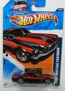Hot Wheels 1 64 11 Street Beasts Ford Mustang Fastback RARE Black and
