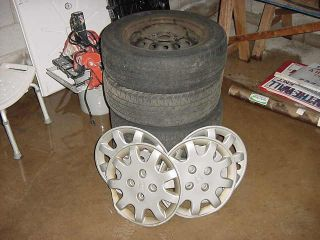 Accord Wagon LX Stock Wheels Rims Tires 195 65 R15 Hub Cap