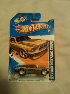 Hot Wheels 2012 67 Ford Mustang Coupe Super Secret Treasure Hunt 6 of