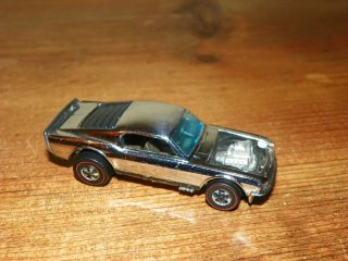Hot Wheels Mustang Boss Hoss Chrome