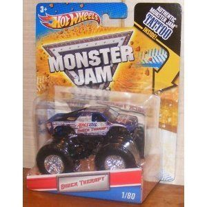 Hot Wheels Monster Jam 1 80 Shock Therapy 1 64 Scale Collectible Truck