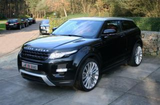 Range Rover Evoque 22 Alloy Wheels Hawke Chayton High Gloss Silver