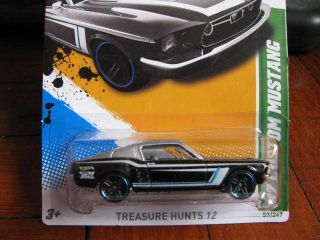Hot Wheels Treasure Hunts 67 Custom Ford Mustang