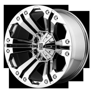 Monster Chrome Rims Tires Nitto Terra Grappler 325x60x18 Wheels