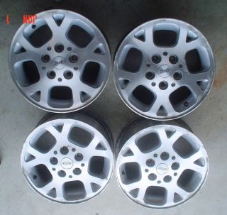1999 JEEP CHEROKEE GRAND CHEROKEE set of 4 FACTORY WHEELS RIMS 16 X 8