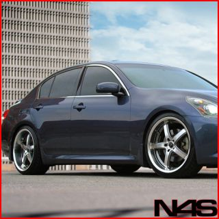 Sedan Avant Garde M350 VIP Machined Staggered Lip Rims Wheels