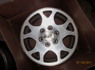Tahoe Silverado Z71 17 OEM Factory Alloy Wheels Rims 01 02 03 04 05 06