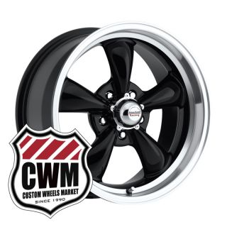 17x8 Black Wheels Rims for Chevy Chevelle 64 72
