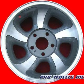 Chevrolet GMC 15 Machined Gray Wheel Rim 5063 A