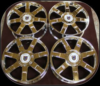 Escalade 22 Chrome Wheels Rims Tahoe Suburban Avalanche Denali Yukon