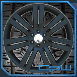 24 inch Wheels Rims Matte Black for Chevy Silverado Suburban Tahoe