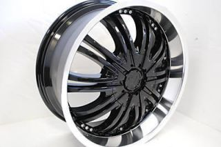 in Original Box 18 BLACK Wheels Rims Nissan Altima Maxima 300ZX 350Z
