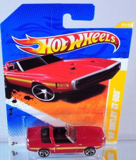 Hot Wheels 69 Shelby GT 500 2011 New Models