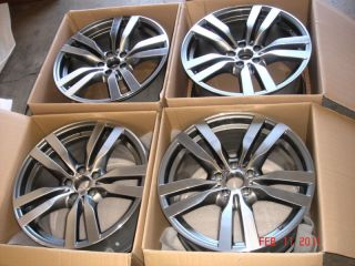 BMW E71 x6 M Genuine Wheels Wheel Set 20 Style 300 New