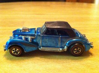 Redline Classic Cord Hot Wheels 1971 USA Lt. Blue One Owner All