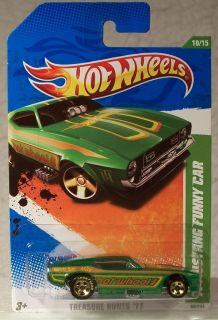 2011 Hot Wheels Treasure Hunt 71 Mustang Funny Car 10 15