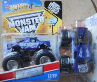 2011 HOT WHEELS Monster Jam #12 Blue Thunder 164 scale truck from B