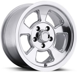 Replica Slotted Polished 15 Alloy Wheels 5 Lug Ford Chevy