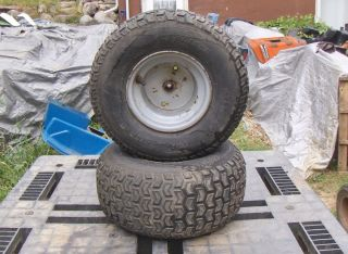 Murray Lawn Garden Tractor Rear Tires and Wheels