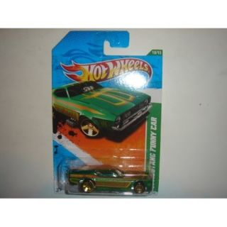 2011 Hot Wheels Regular Treasure Hunt 71 Mustang Funny Car SEALED New