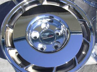 Chevy Corvette 1984 85 86 87 Chrome Wheel Rim Exchange