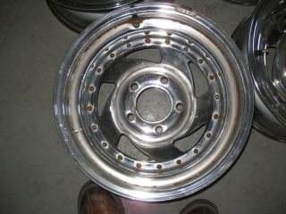 71 87 15x8 Chevy GMC Truck Chrome Wheels 5 Lug 5 Bolt Pattern