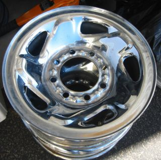 94 99 Dodge 2500 98 03 Van 16 Chrome Steel Wheel Rim